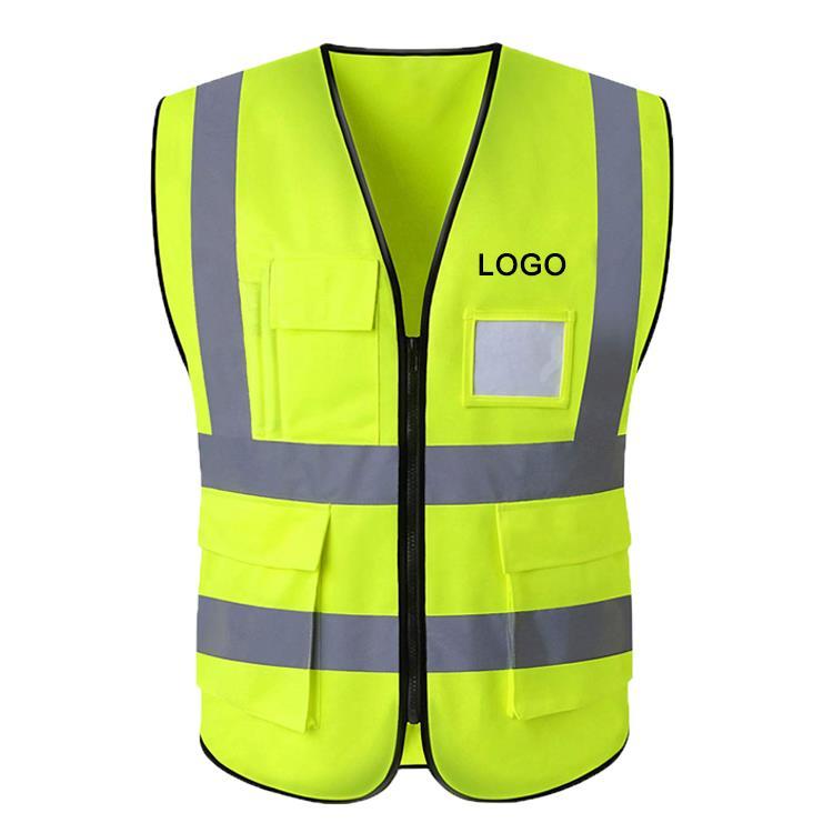 Reflective High Visibility Safety Construction Vest