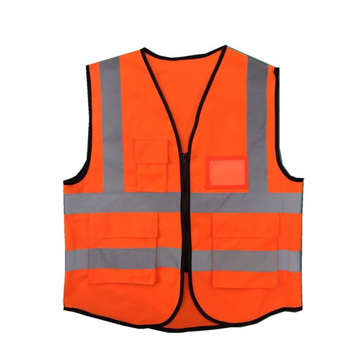 customized logo printed reflective Safety Vest for advertising
