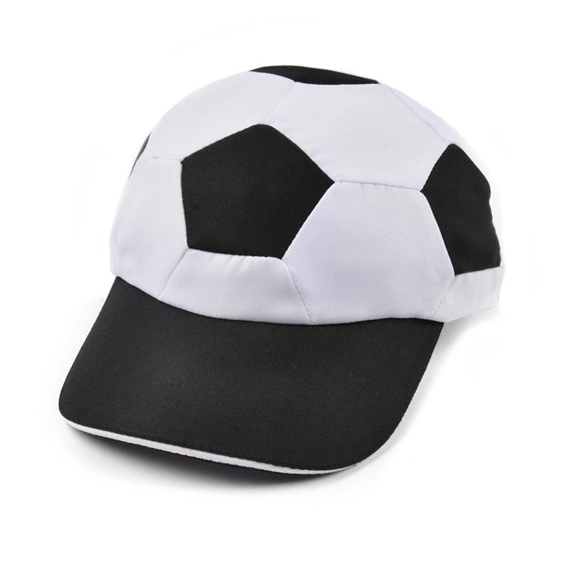Custom design unstructured soft cute kids football hat soccer baseball caps