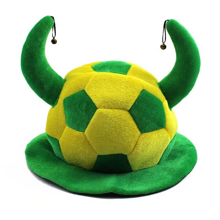 crazy soccer fan party hats wholesale football fans hat