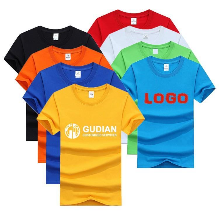 Custom Sublimation Printing Logo T Shirt Oversized 100% Cotton Unisex Tshirt