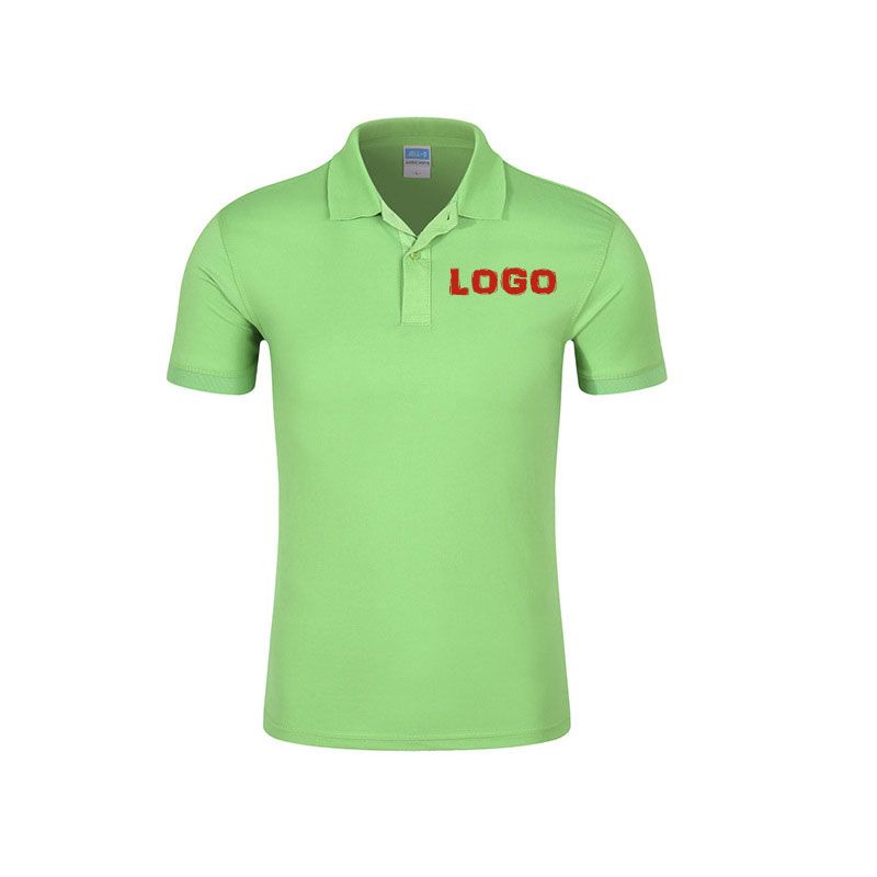 Wholesale cheap custom printing polo t-shirt with own logo