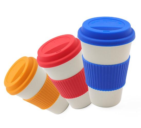 Bamboo fiber mugs