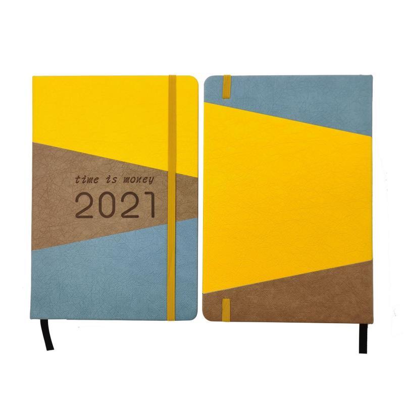 Custom logo 2021 planner daily planner 365 days agenda