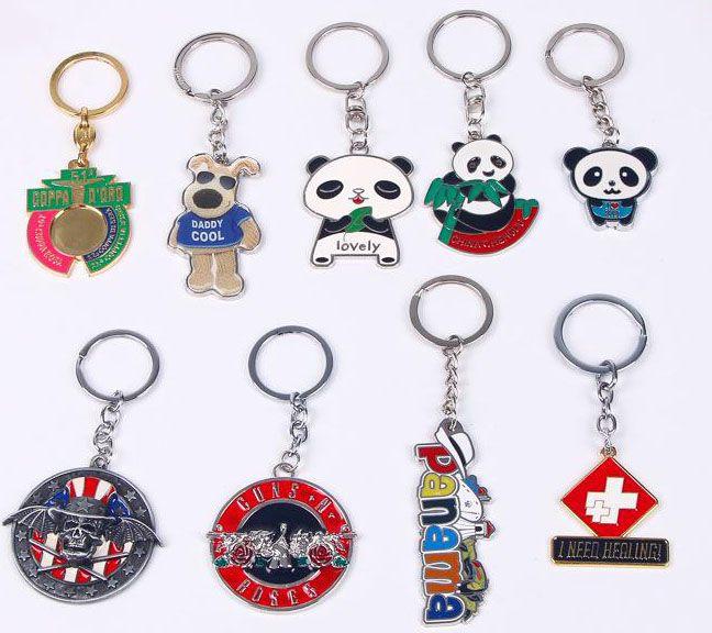 Customizable Letter Pattern Metal Key Chain,Car Key Chain