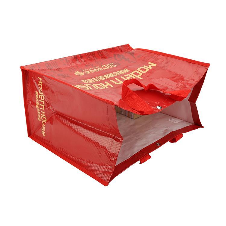 laminated promotional gift bag