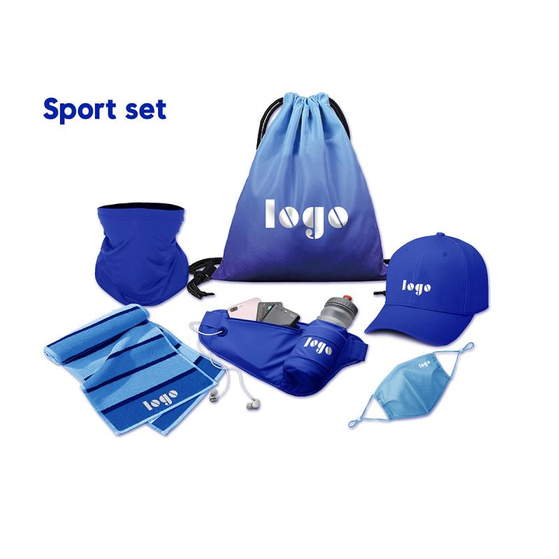 Customized Travel Sports Corporate Promotional Gifts Items Set with Custom Logo
