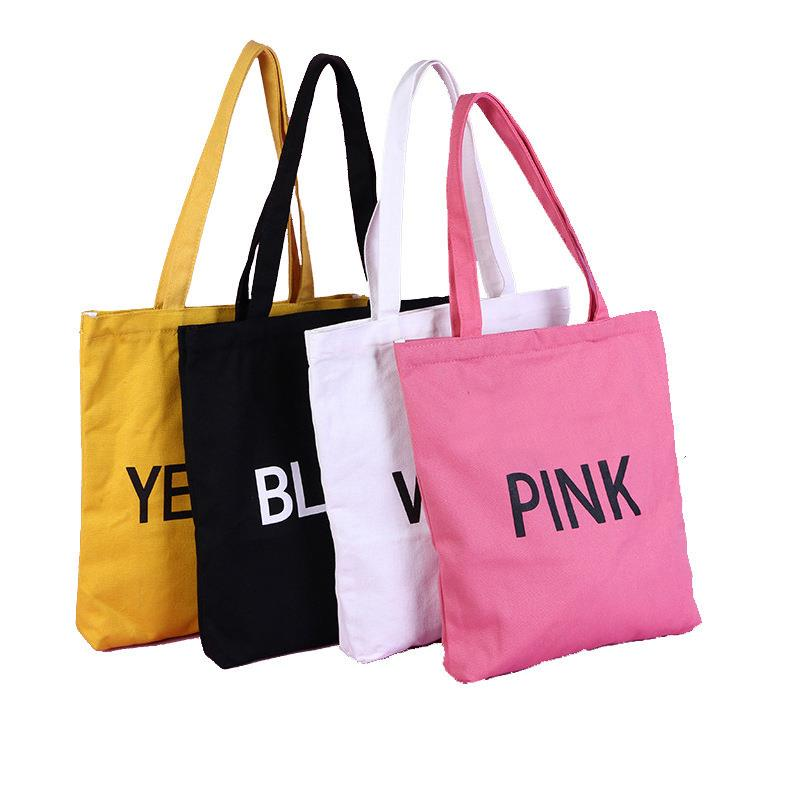 Promotional cheap blank cotton tote bags