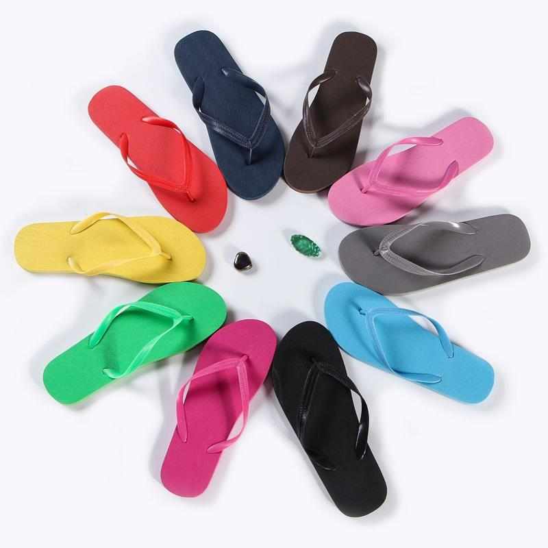 women wedding flip flops beach slippers eva rubber cheap black flip-flops for ladies