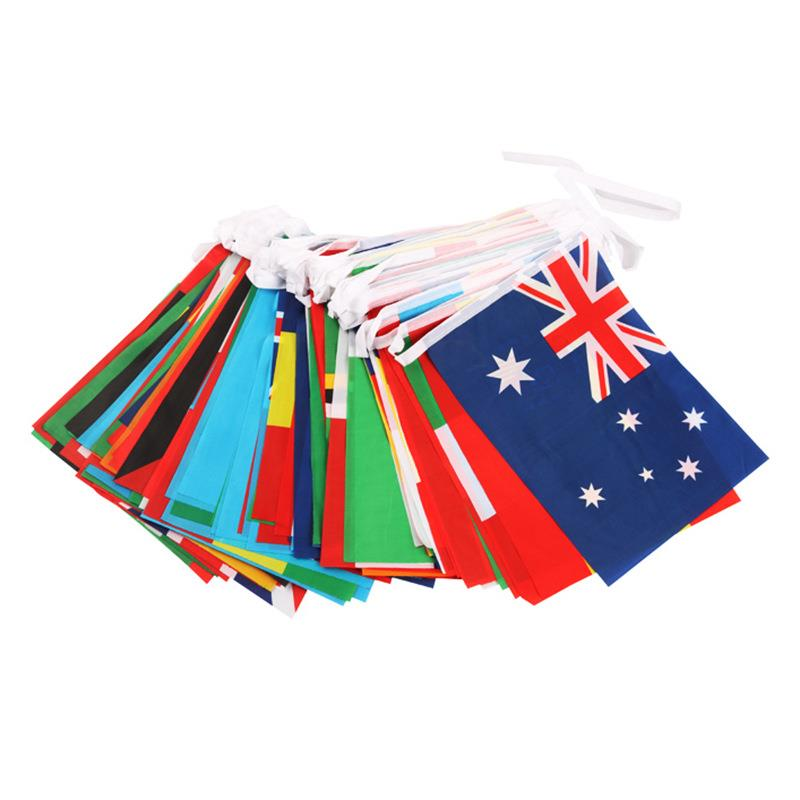 Wholesale Promotion Country Felt Pennant String Flags