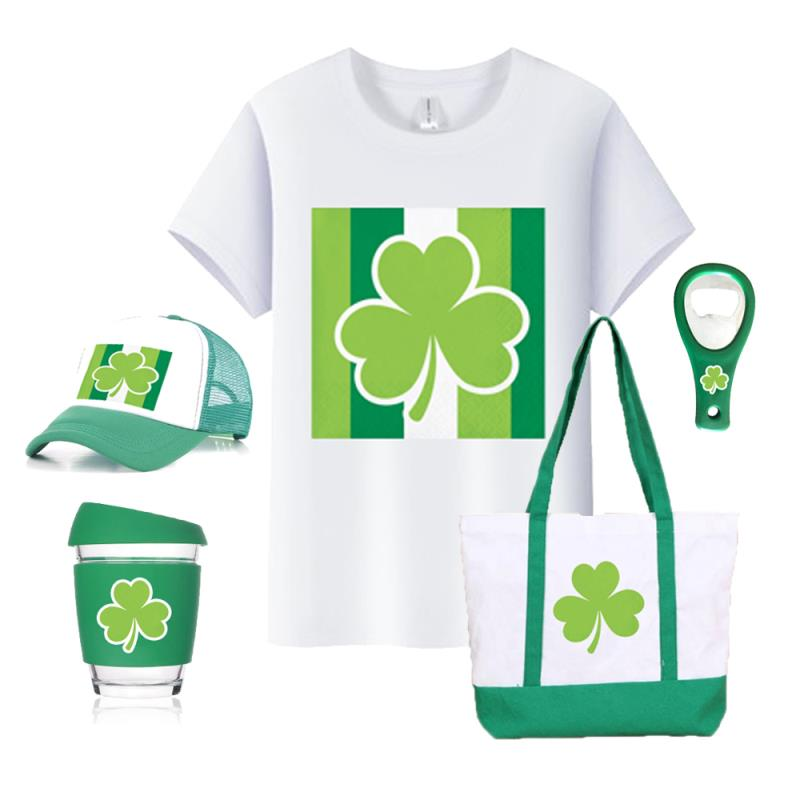 Promotional Gift Sets Levin Promos 2021 New Party Decoration March St. Patrick's Day Favors