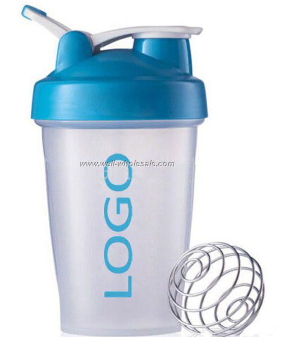 Sport Plastic Water Shaker Bottle
