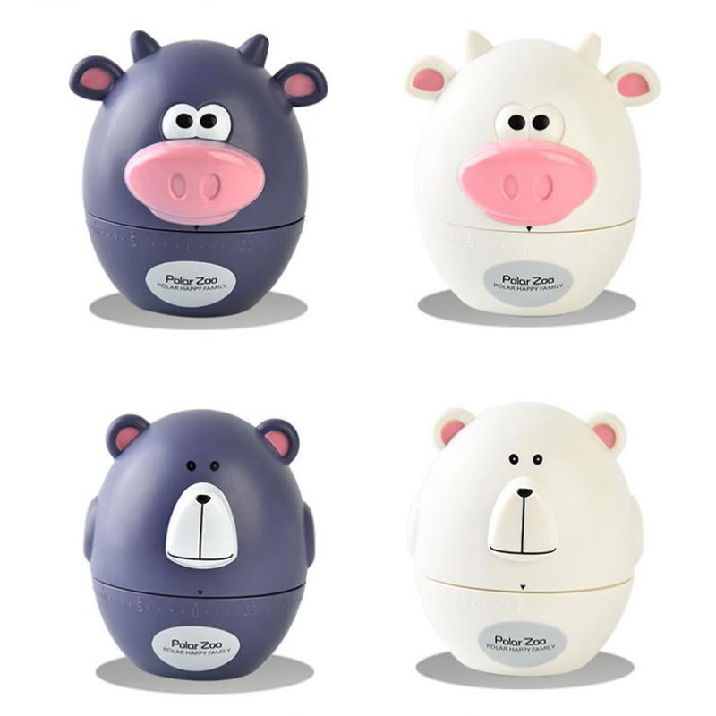 cartoon cheap animal shaped bear cow kitchen timer