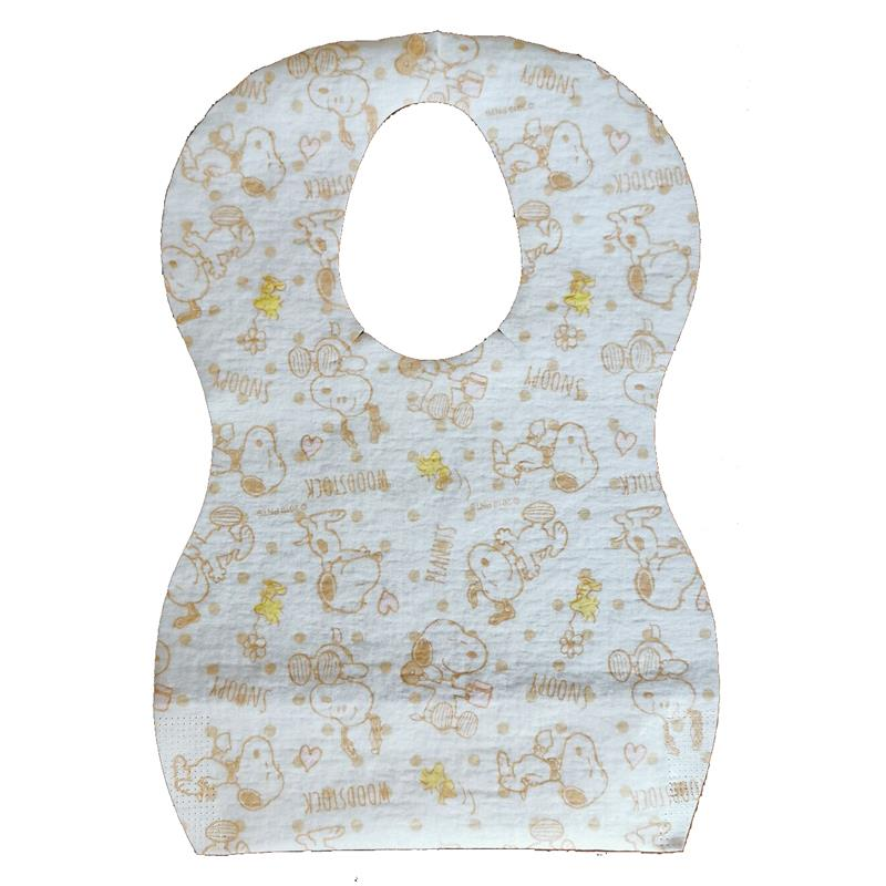 Non Woven Fabric Baby Disposable Paper Bibs
