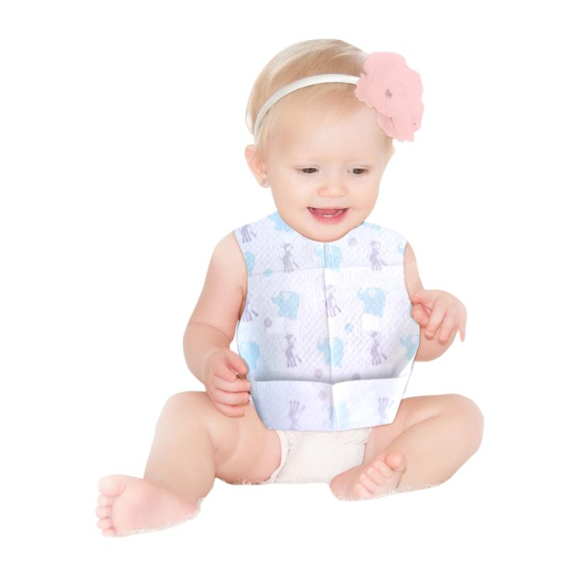 Good quality disposable bib for baby