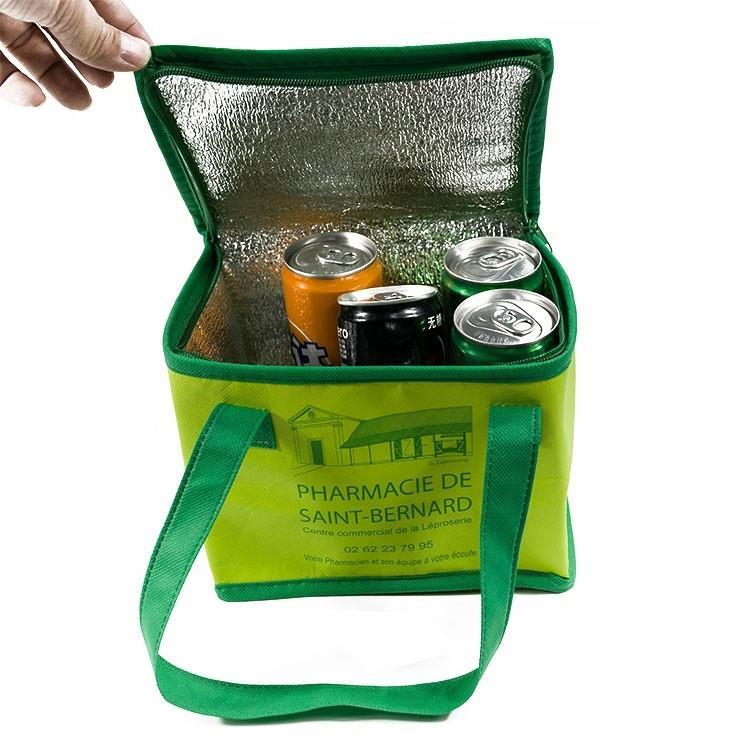 Aluminum Foil Kids Lunch Bag Eco Custom Non Woven Cooler Bag