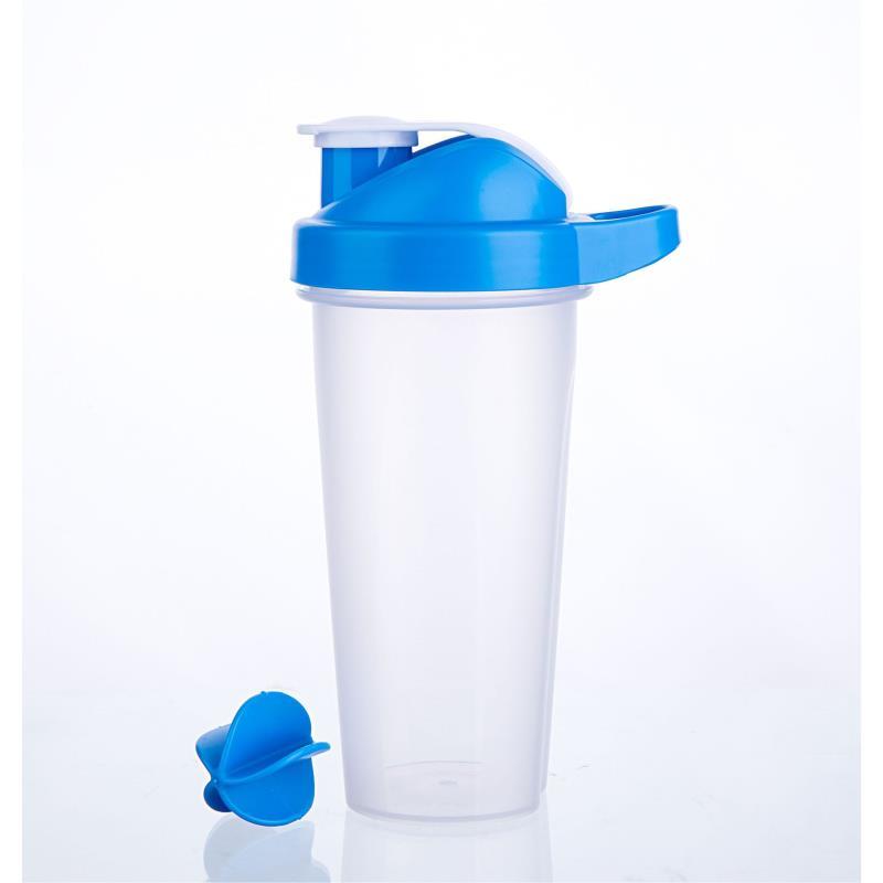 Protein Shaker Bottle 600ml Plastic Shaker Bottle