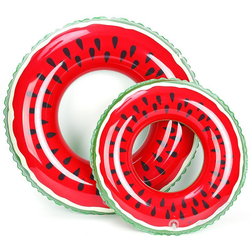 PVC Watermelon Swim Ring Inflatable Tube Pool swimming ring