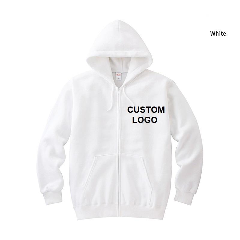 Hight quality multi color 280gsm sport large white hoodie