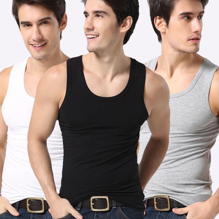 Modal Mens Camisole Vest Men Tank Tops Mens Singlet