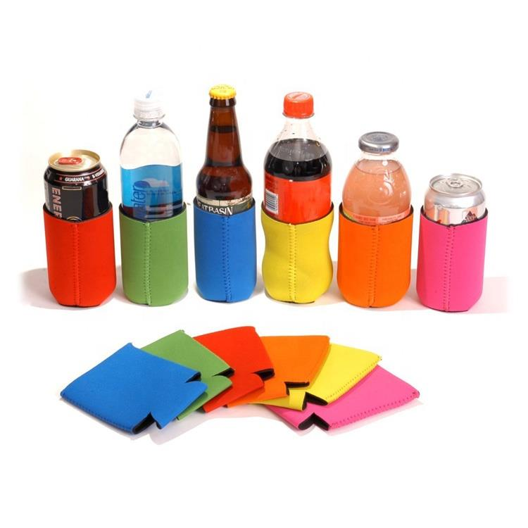 Holder Sublimation Beer Cozy Neoprene Thermal Insulated
