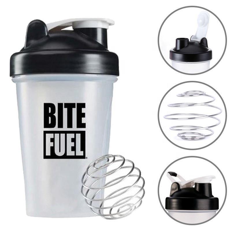 Customized 14 OZ 20 OZ 28OZ BPA Free Plastic Protein Shaker Bottle