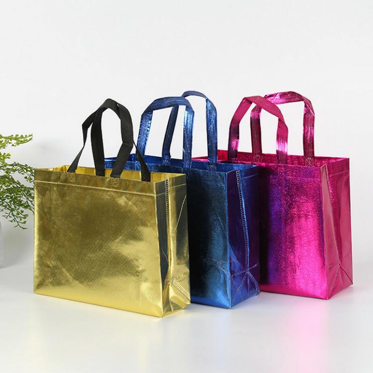 Reusable Grocery Tote Handle Gift Bag Stylish Promotional Shopping Bag