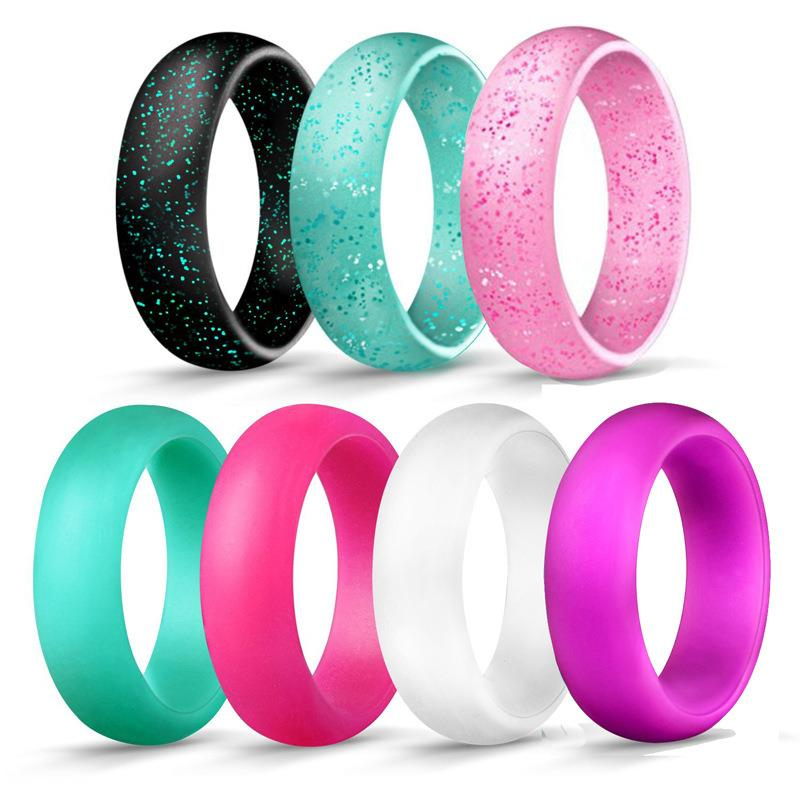 Silicone Wedding Rings Wedding Bands All Sizes