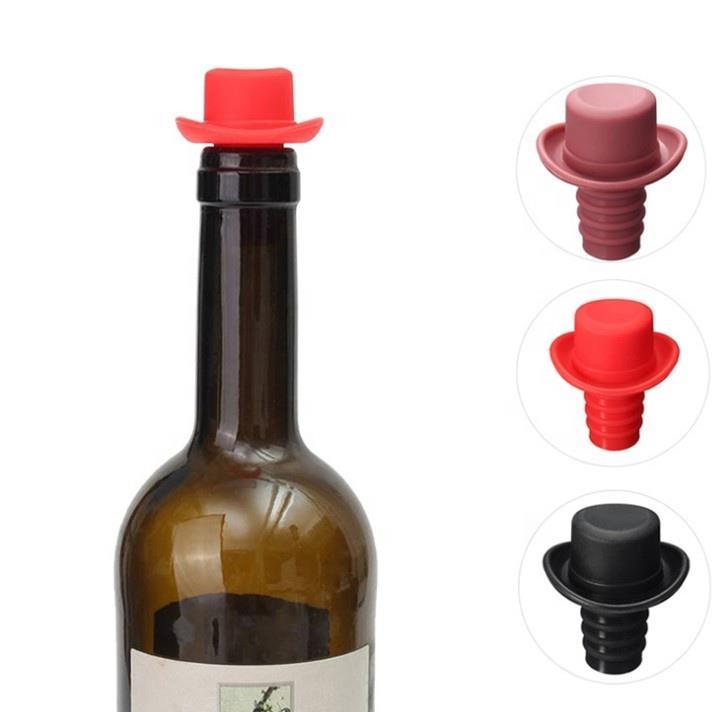Fashion silicone beer bottle lid bottle cap for wine bottle