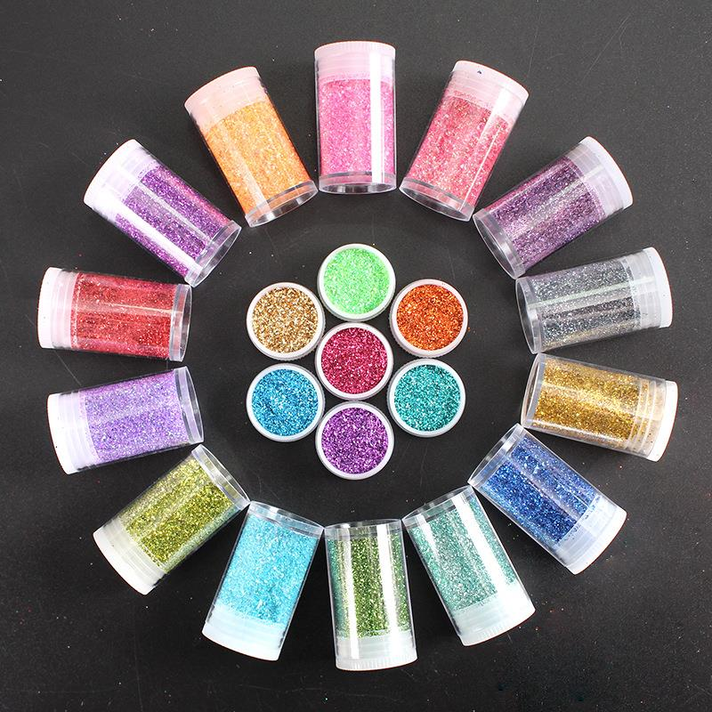 colorful glitter powder for party decoration party supplies