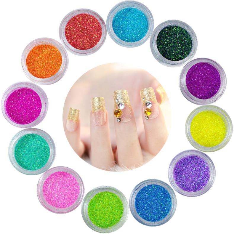 High quality glitter powder bulk with various colors