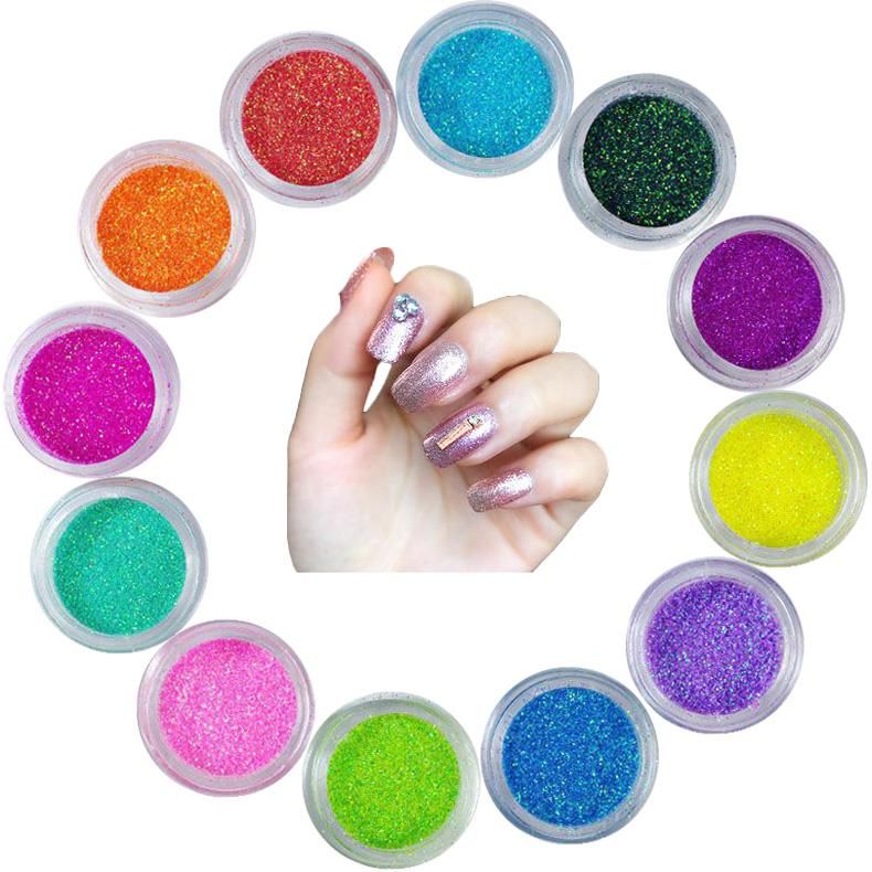 wholesale glitter powder for Arts crafts nail polish glitter polish
