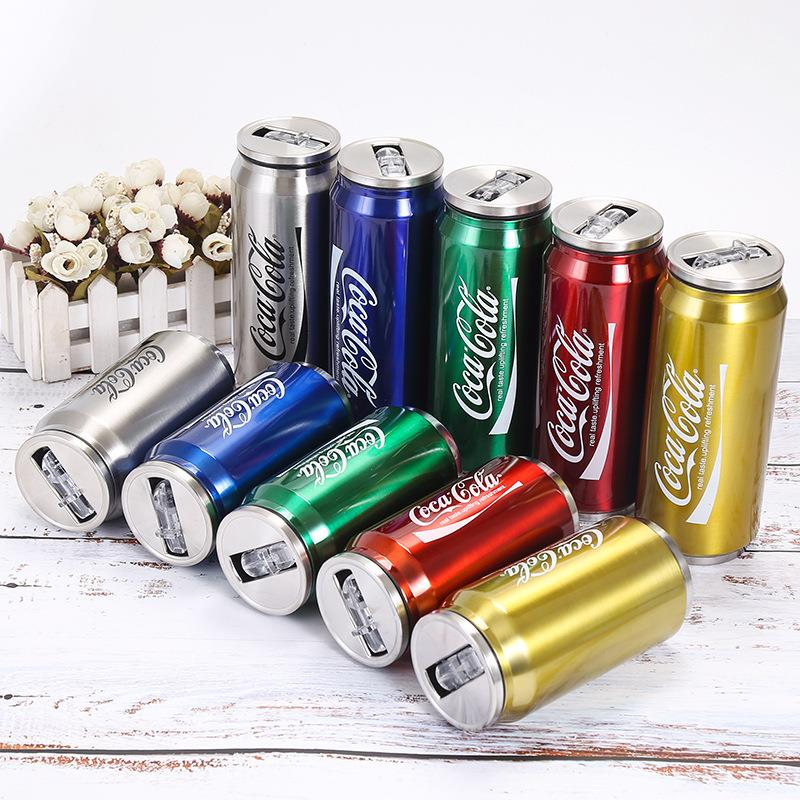 coke cola cans water bottle