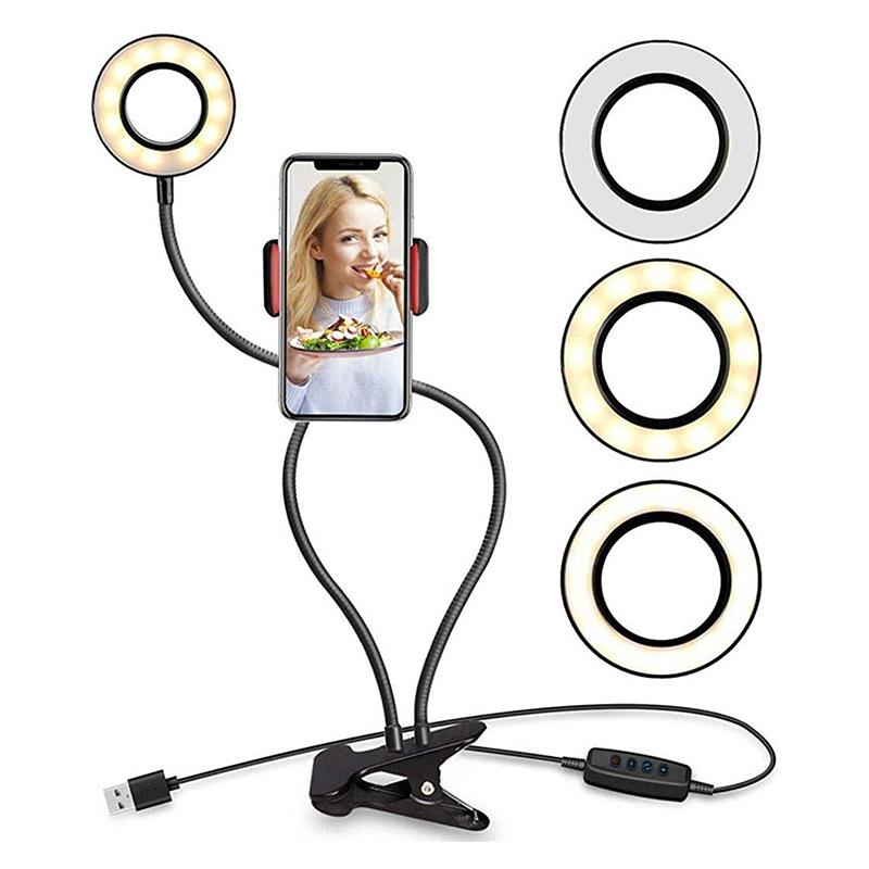 Selfie Aro De Luz Light Ring Lamp With Tripod Stand Ring Light
