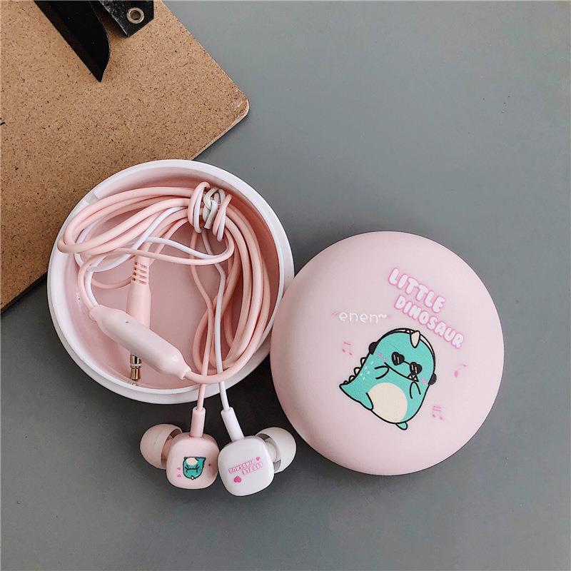 Exquisite storage box student cartoon headset