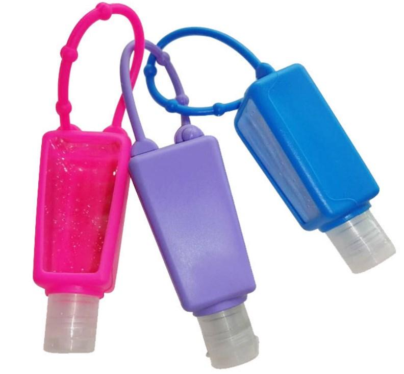 Smart waterless hand sanitizer bottle holder for kids