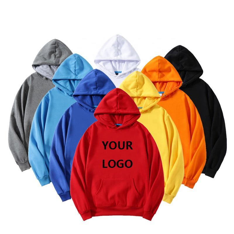 Wholesale Men Custom Printing Embroidery Hoodies
