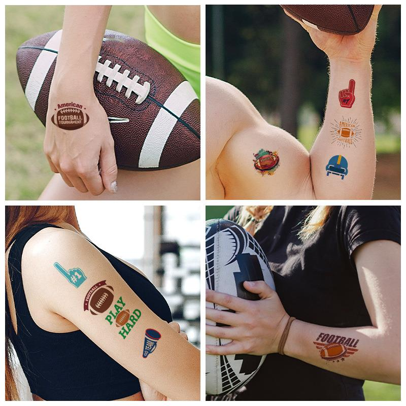 national flag tattoo for soccer football game fans arms temporary tattoo sticker