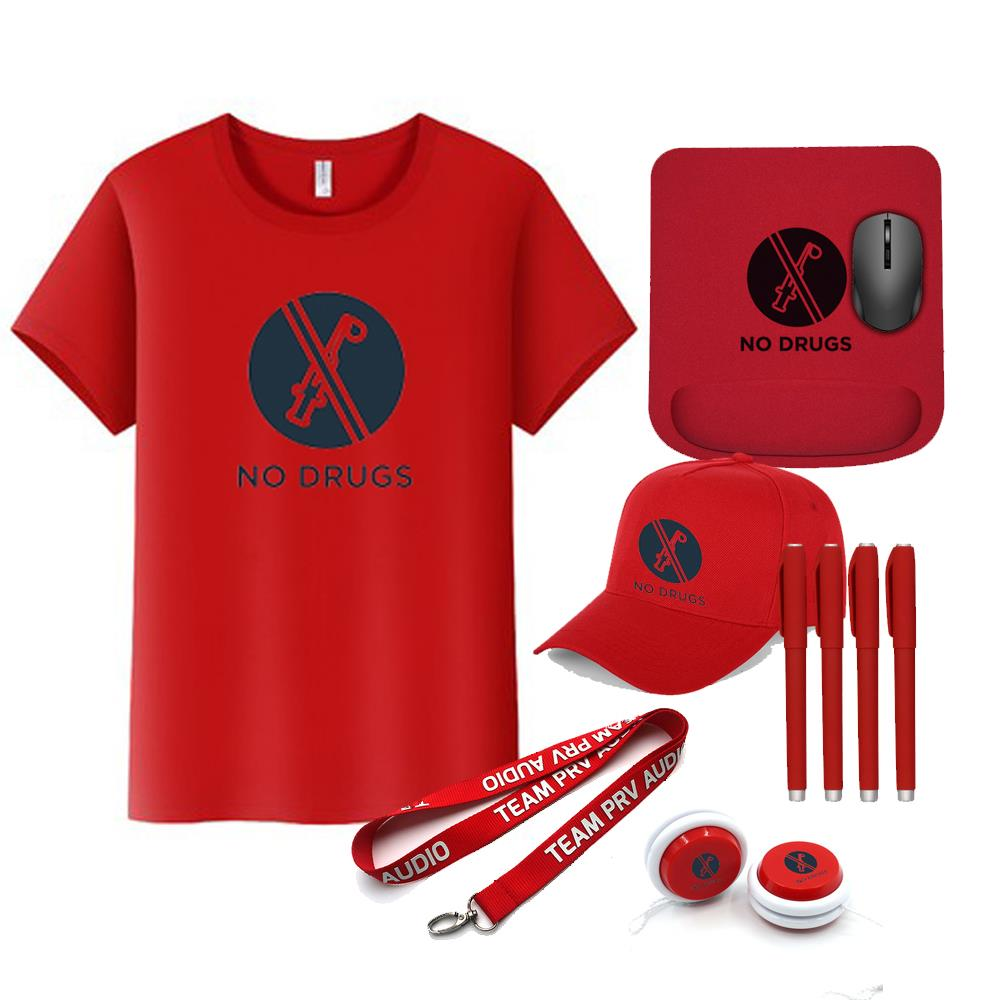 2021 New Anti-Drug No Drugs Activity Red Ribbon Week Products